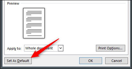 "Click ""Set As Default."""
