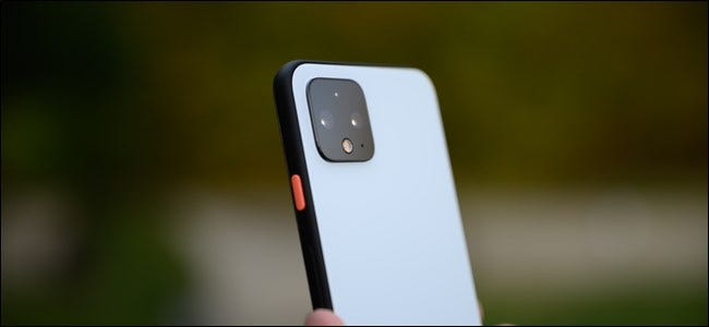 Google Pixel 4 Back Camera Bump