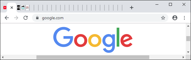 A large number of tabs open on Chrome's tab bar.