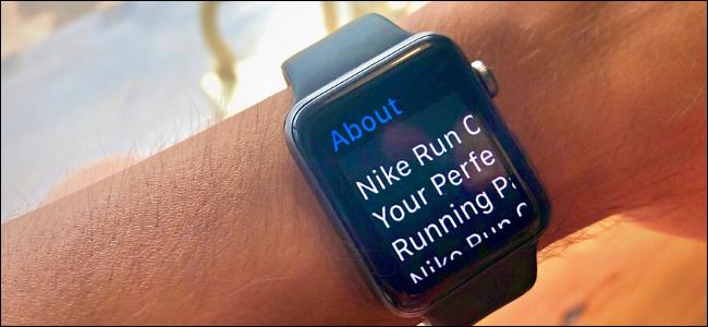 Apple Watch shown In zoom mode
