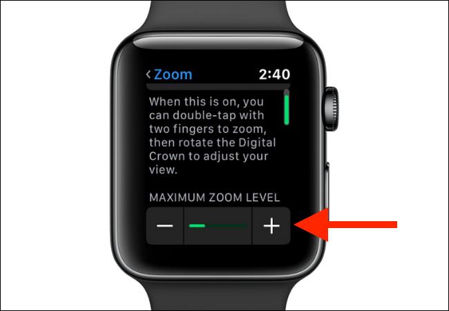 Change maximum zoom level
