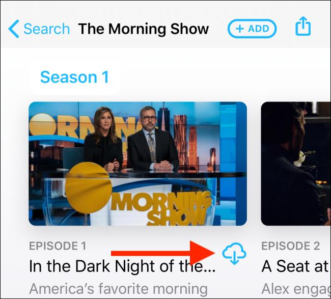 Toca el botón de descarga de la página del programa.