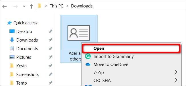 """Click """"Open."""""""