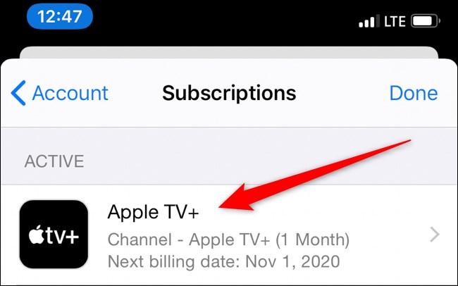 Apple iPhone App Store Tap Apple TV+