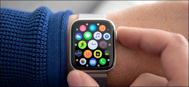 Apple Wtach App Grid Pressing Digital Crown