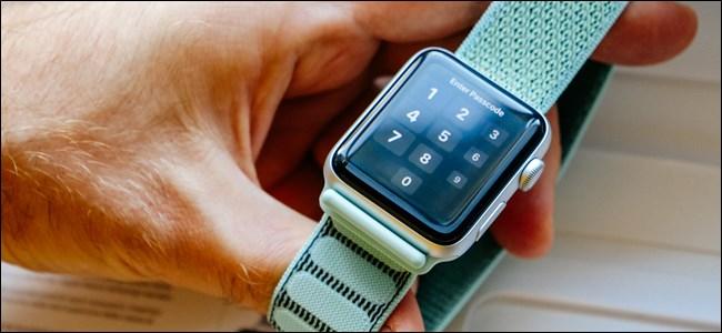 Apple Watch Lockscreen