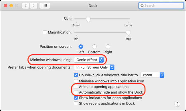 Disable Animations on macOS to Improve Performance