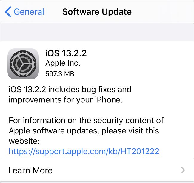 Install iOS Updates to Keep Your iPhone Secure