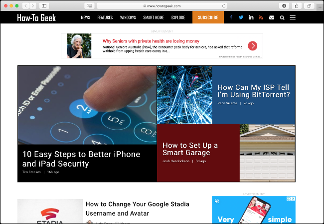 Browse the Web With a Lightweight Browser like Safari