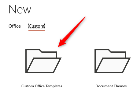 Custom Office Templates