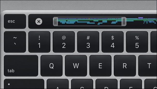 Apple MacBook Pro 16-inch Magic Keyboard with Touch Bar