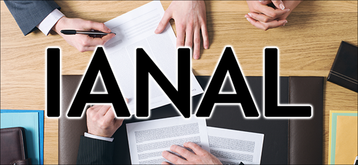 A group of people at a table with the word IANAL superimposed over their hands.