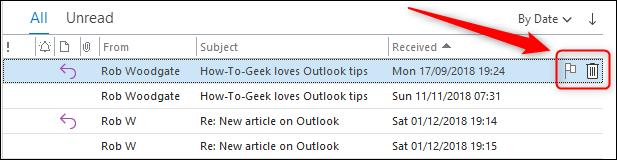 The default Quick Action buttons.