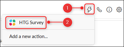 Click the Workflow icon, and then select the workflow.