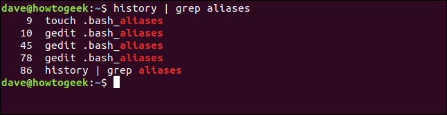 """The """"history 