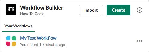"""Workflow Generator"" panel."