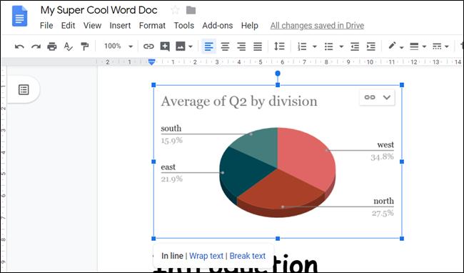 Haga clic en el gráfico y luego arrastre los pequeños cuadrados azules para cambiar su tamaño.