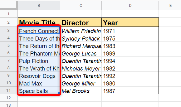 Otherwise, select the cells you want to apply text wrapping to from an existing spreadsheet.