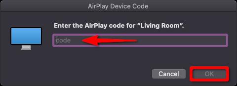 Apple TV AirPlay Device Code Mac