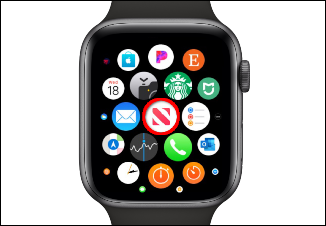 Apple Watch News App Icon