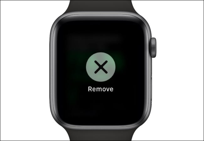 Apple Watch Remove Stock