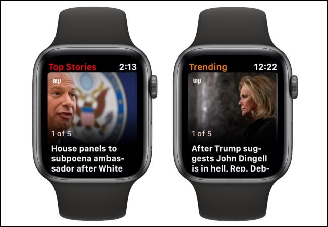 Apple Watch Top Stories Tending News