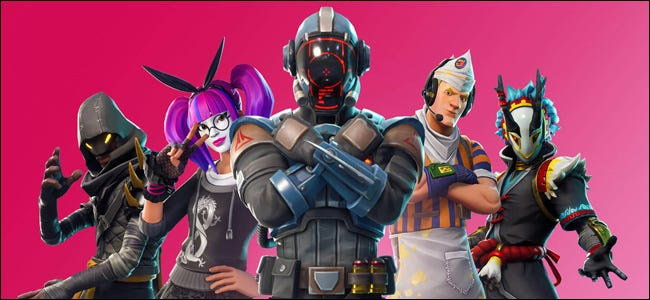 Epic Games Fortnite Characters