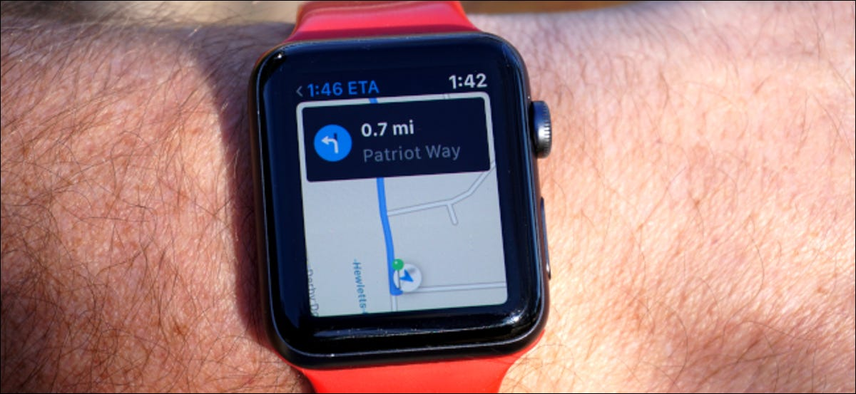 Get Driving Directions Apple Watch