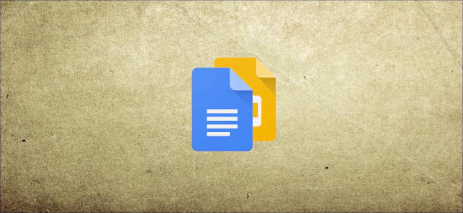Google Docs and Slides logos