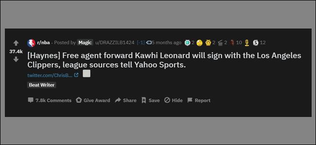Kawhi Leonard Basketball Karma