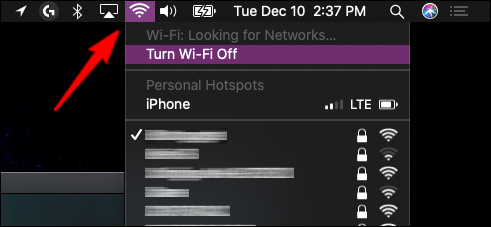 MacOS Check Network Connection