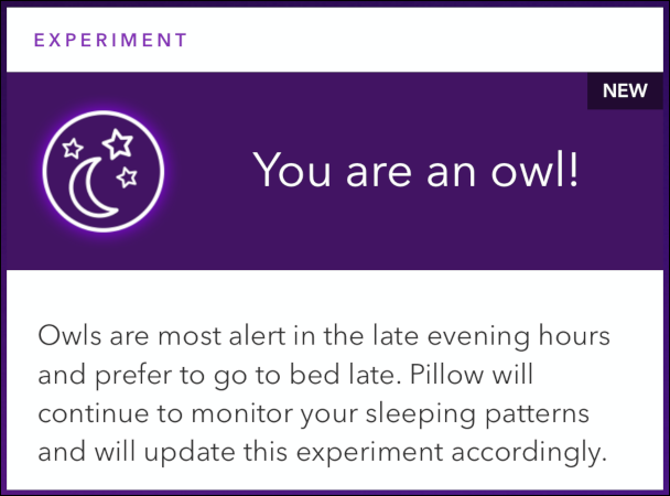 """An """"Experiment"""" in the """"Snooze Lab."""""""