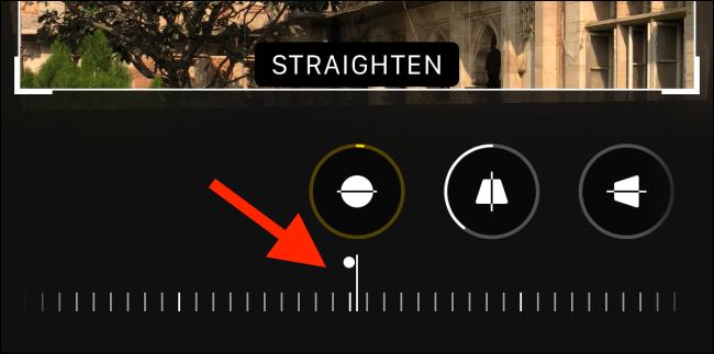Use the straighten tool