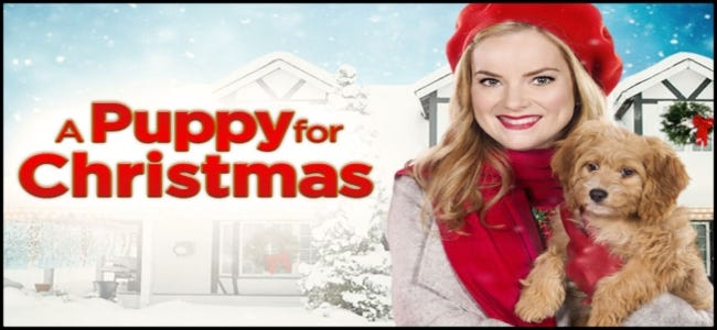 A Puppy for Christmas Hallmark movie
