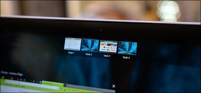 Controles de escritorio virtual de Chrome OS