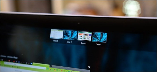 Chrome OS Virtual Desktop Controls
