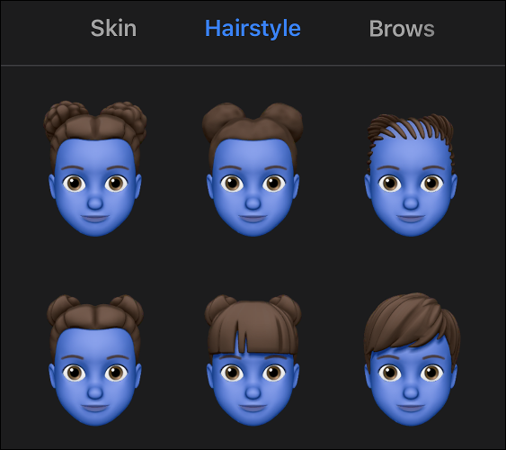 Creating a Memoji in iOS 13