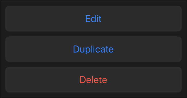 Edit, Duplicate, or Delete Existing Memoji
