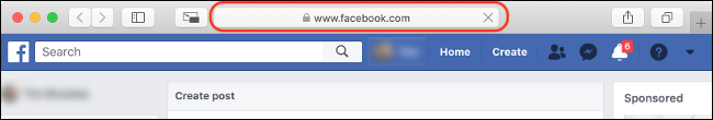 """Check for """"Facebook.com"""" in Your Address Bar"""