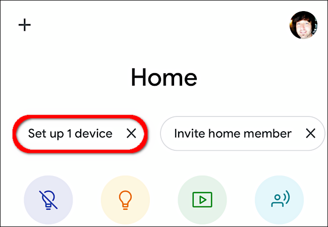 "Tap ""Set Up 1 Device."""