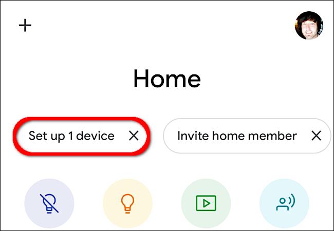 "Tap ""Set Up 1 Device."""