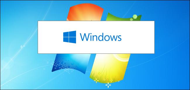 Instalador de Windows 10 en una imagen de fondo de Windows 7.