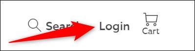 Ring Website Click Login Button