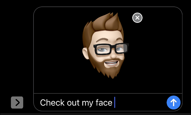 Using Memoji with Face ID in iMessage