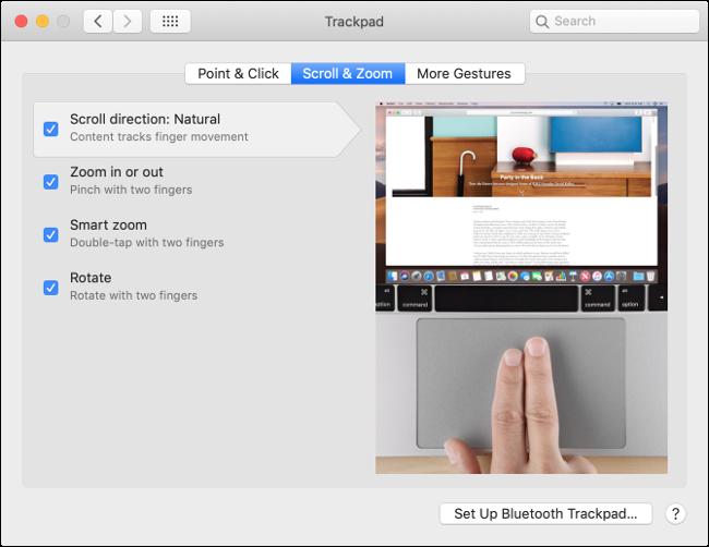 Customize Trackpad Behavior in macOS