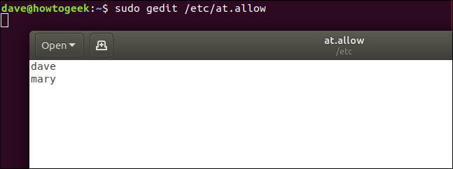 "The ""gedit"" command in a terminal window launched from a ""Ctrl+r"" search command."