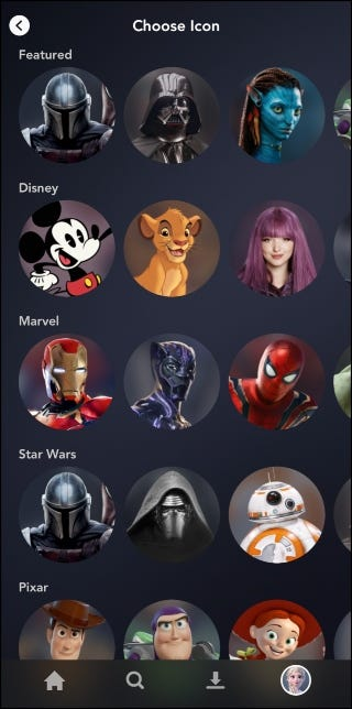 Disney+ Picture Library
