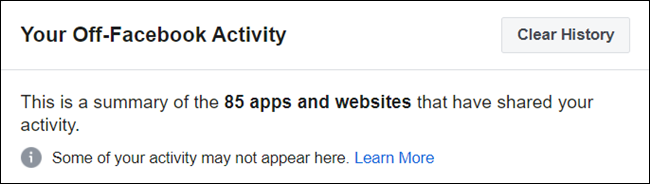 A summary of all the apps and websites.