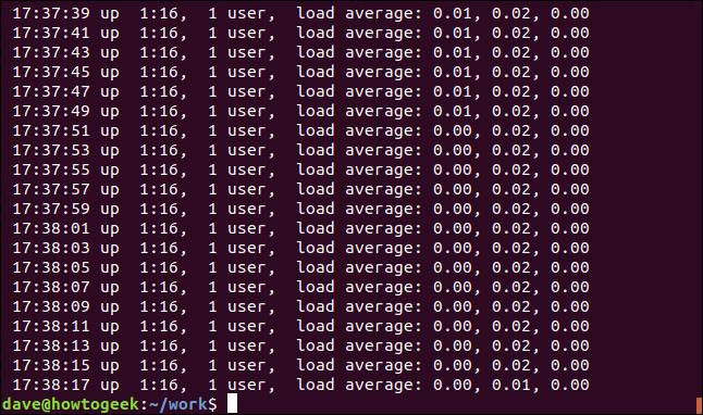 "Output grep ""^ "" geek-1.log in a terminal window"