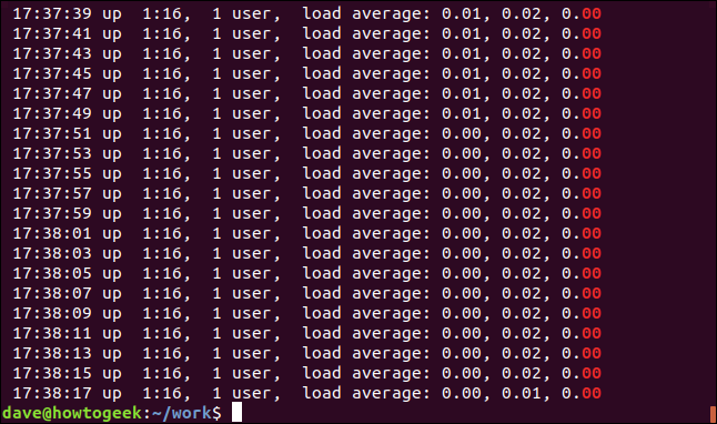 "output of grep ""00$"" geek-1.log in a terminal window"